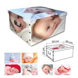 dekorativna kutija za odlaganje stvari beba