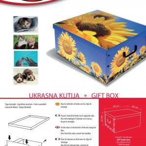 dekorativna kutija za odlaganje stvari shabby