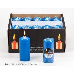 sveca 110×47 mirisna antitabako plava