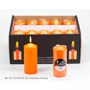 sveca 110×47 mirisna antitabako narandzasta