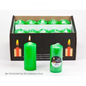 sveca 110×47 mirisna antitabako zelena