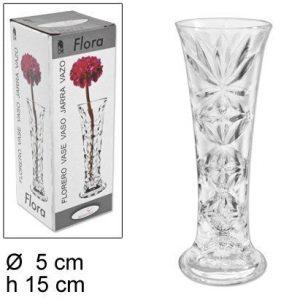 Vaza staklena Eva 15cm