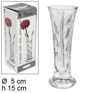 Vaza staklena Carmela 15cm