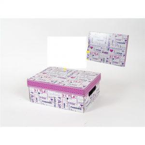 Kutija kartonska slova