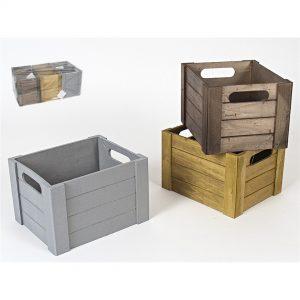 Kutija drvena 17x14x11cm