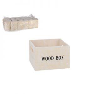 Kutija drvena 15x15x10cm