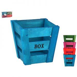 Kutija drvena 11x11x11cm
