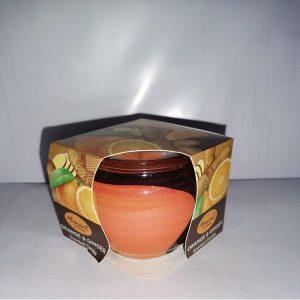 Sveca teglica narandza