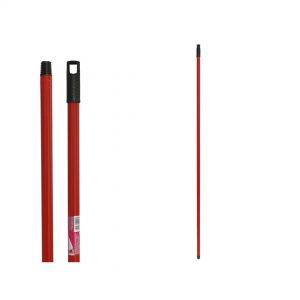 Drska za mop 140cm crvena