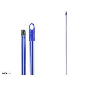 Drska za mop 140cm plavo-bela