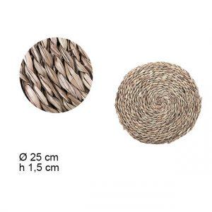 Podmetac pleteni 25cm